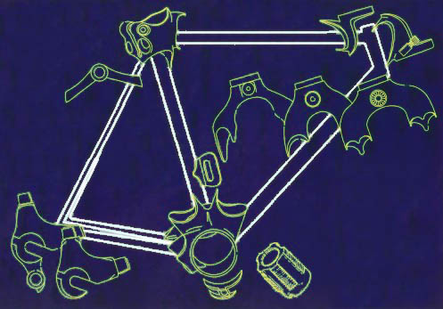 stock europes widest selection of bicycle tubing components and parts for the established framebuilder the hobbyist wanting to build their own frame